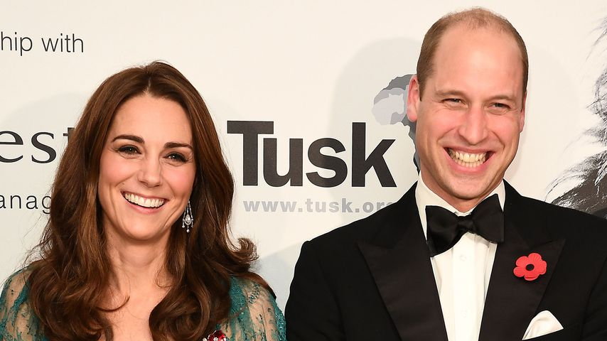 Herzogin Kate und Prinz William in London