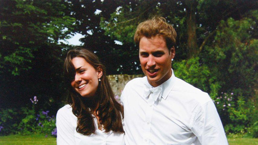 Herzogin Kate und Prinz William bei ihrem College-Abschluss im Jahr 2005