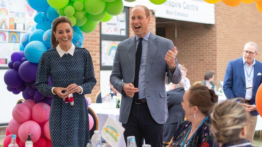 Herzogin Kate und Prinz William im Jahr 2020