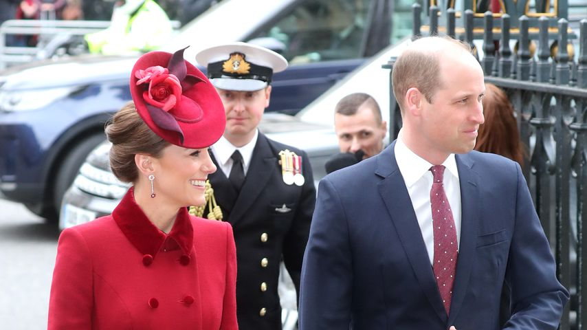 Herzogin Kate und Prinz William im März 2020 in London
