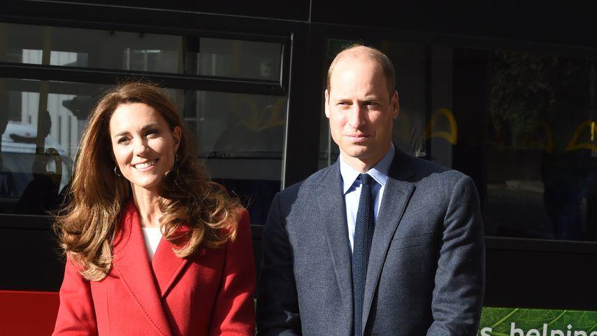 Herzogin Kate und Prinz William in London im Oktober 2020