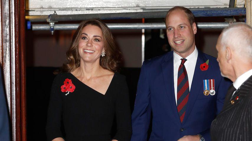 Herzogin Kate und Prinz William in der Royal Albert Hall