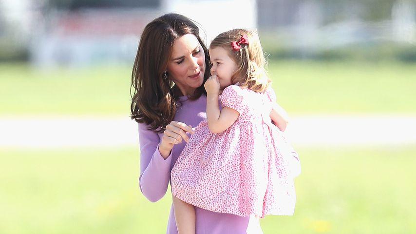 Anders als bei George: Kate kommt zu Charlottes Einschulung