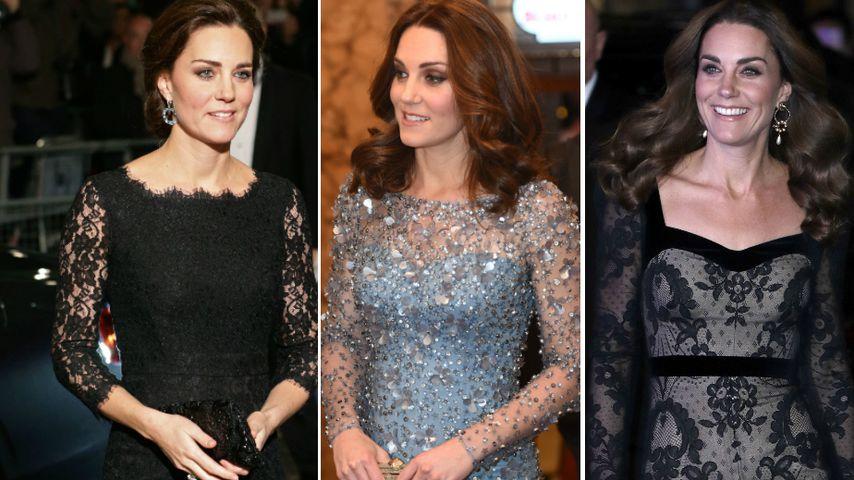 Herzogin Kates schönste Looks der Royal Variety Performance