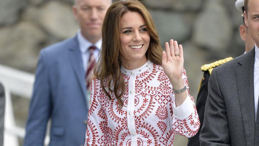 Mega schick: Herzogin Kate verzückt Kanada auch ohne Kids!