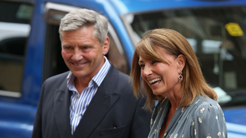 Herzogin Kates Eltern Michael und Carole Middleton