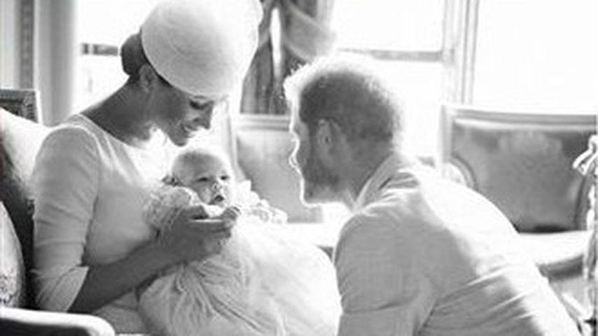 Mit neuem Archie-Bild: So süß gratuliert Meghan ihrem Harry