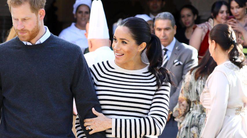 Prinz Harry und Herzogin Meghan in Marokko, 2019