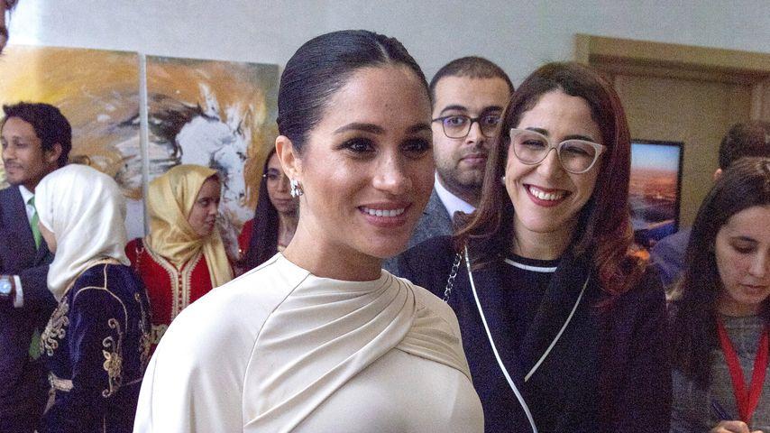 Herzogin Meghan während ihres Staatsbesuches in Marokko 2019