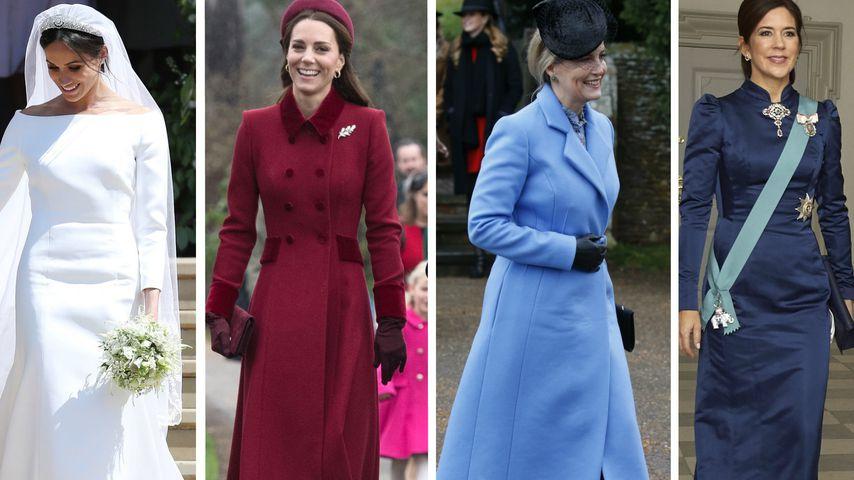 Meghan gab 2018 mehr für Kleider aus als andere Royal-Ladys!