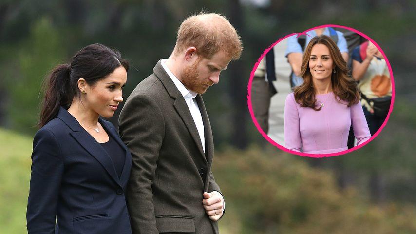 Meghan & Harry ziehen um: Ist Kate etwa der Grund dafür?