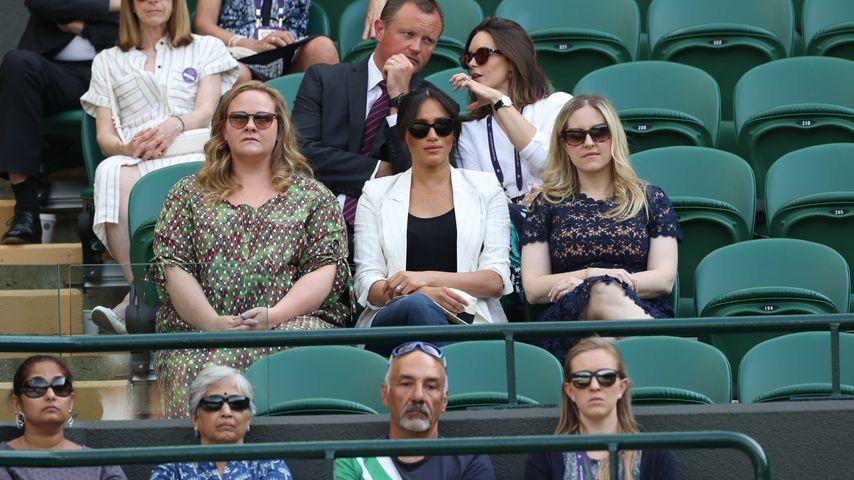 Wollte er Meghan knipsen? Wimbledon-Gast bricht Schweigen