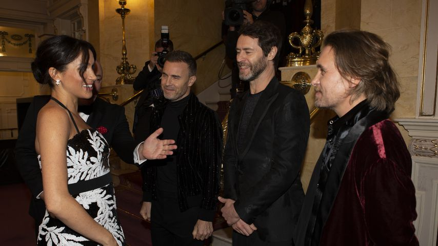Fangirl-Moment? Herzogin Meghan trifft Take That bei Event