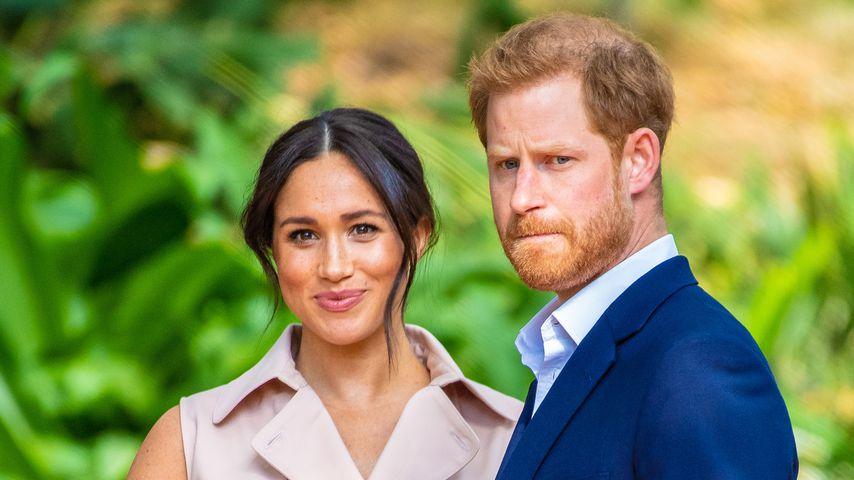Herzogin Meghan und Prinz Harry, Januar 2020