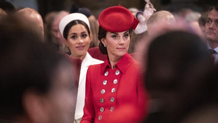 Herzogin Meghan und Herzogin Kate am Commonwealth Day