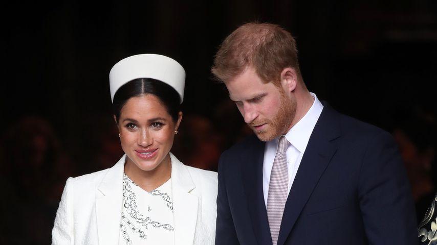 Herzogin Meghan und Prinz Harry am Commonwealth Day 2019 in London