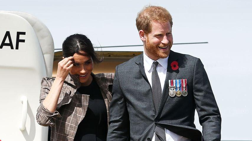 Herzogin Meghan und Prinz Harry während ihrer Royal-Tour