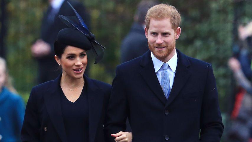 Herzogin Meghan und Prinz Harry an Weihnachten 2018