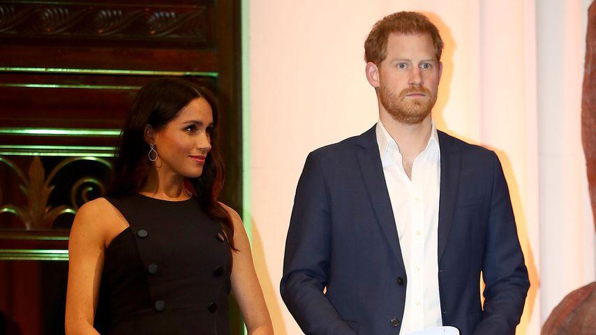 Herzogin Meghan und Prinz Harry bei einem Empfang in Auckland, Neuseeland