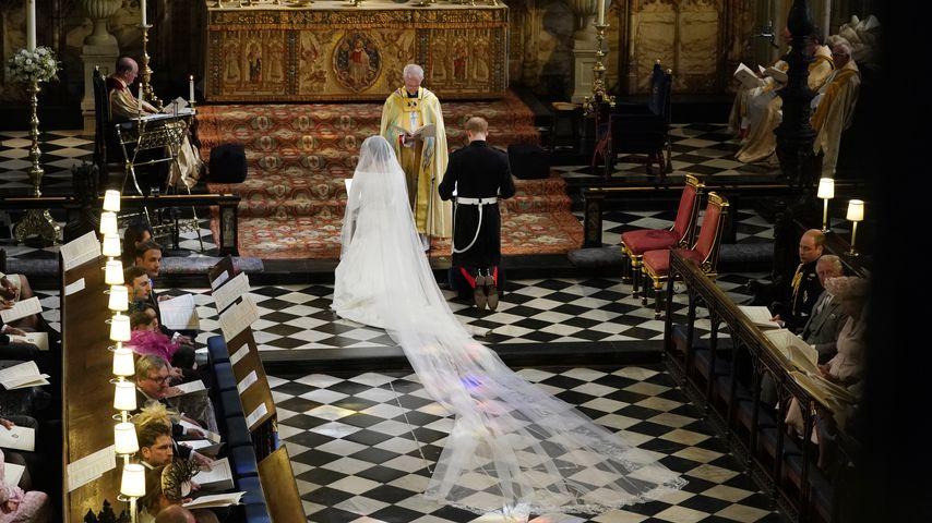 Herzogin Meghan und Prinz Harry bei ihrer Hochzeit