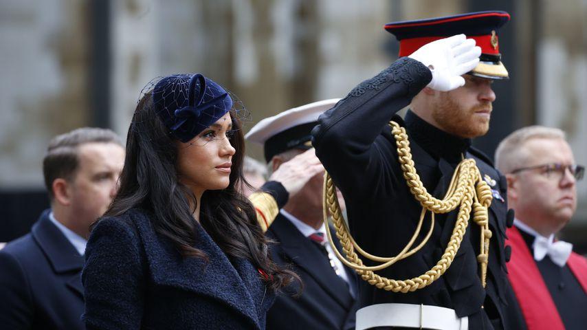 Herzogin Meghan und Prinz Harry in London, November 2019