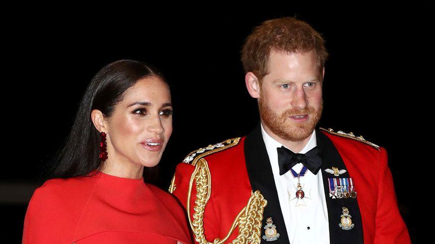 Herzogin Meghan und Prinz Harry im März 2020