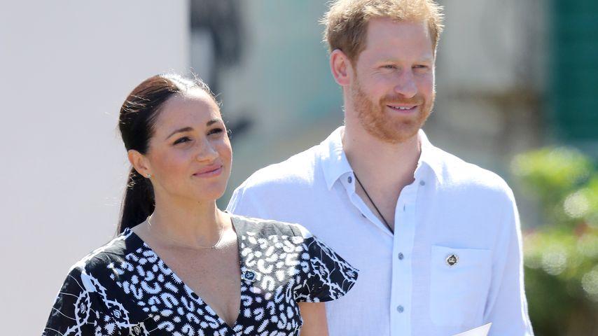 Herzogin Meghan und Prinz Harry besuchen eine Rechtsabteilung in Kapstadt im September 2019