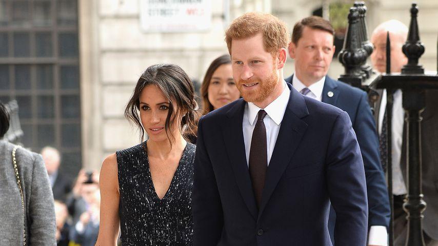 Herzogin Meghan und Prinz Harry, April 2018