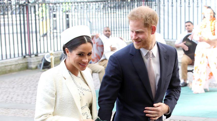 Herzogin Meghan und Prinz Harry am Commonwealth Day in London, 2019