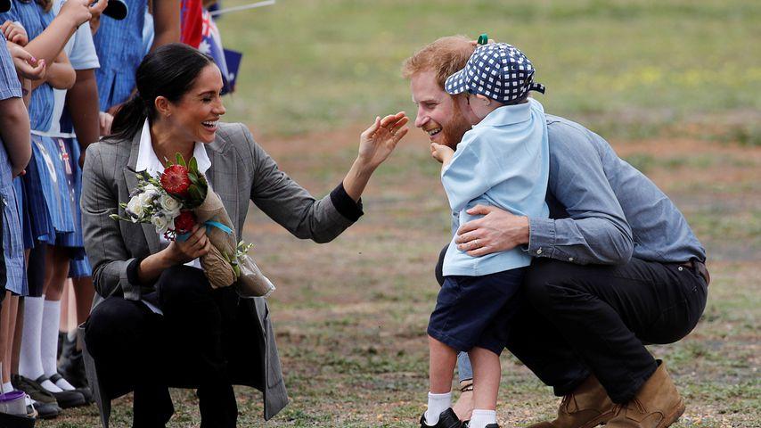 Bald-Eltern Meghan & Harry von Kids in Australien verzaubert