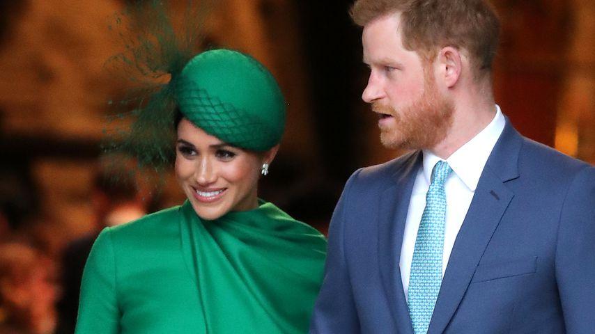 Herzogin Meghan und Prinz Harry in London, Frühjahr 2020