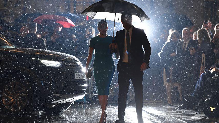 Herzogin Meghan und Prinz Harry in London, März 2020