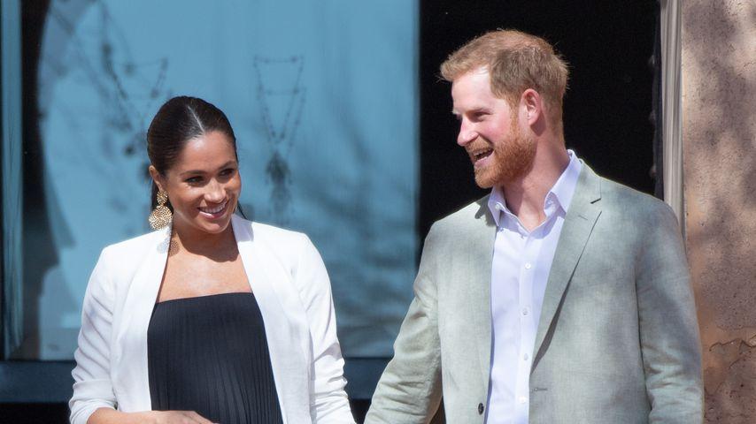 """""""Ist es meins?"""" Harry witzelt über Meghans Schwangerschaft!"""