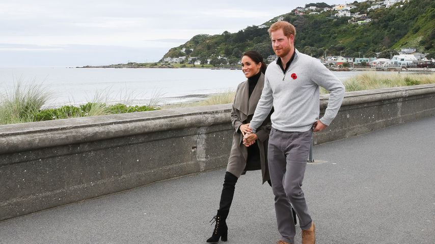 Herzogin Meghan und Prinz Harry in Wellington, Neuseeland