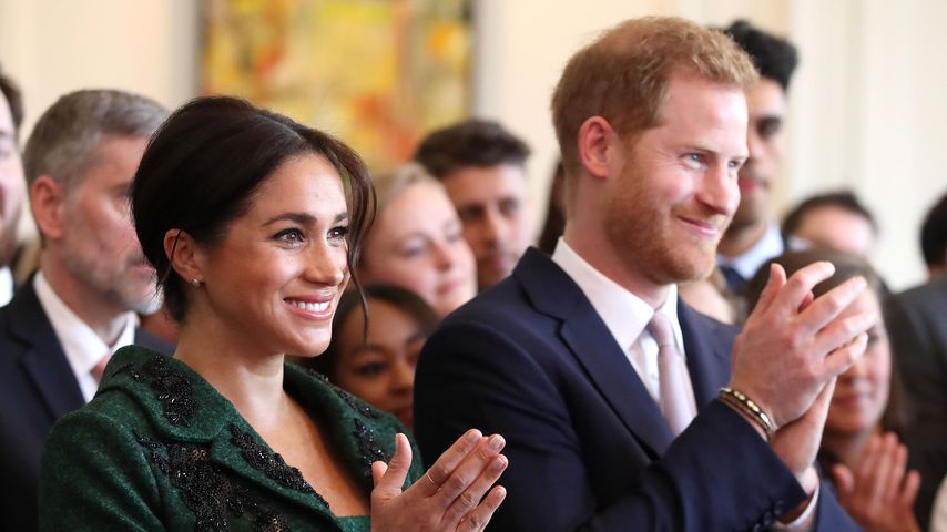 Herzogin Meghan und Prinz Harry am Commonwealth Day in London, 2019