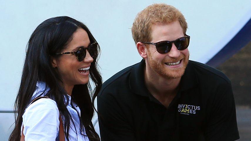 Herzogin Meghan macht sich über Prinz Harrys Alter lustig!