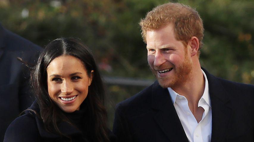 Herzogin Meghan und Prinz Harry im Jahr 2017
