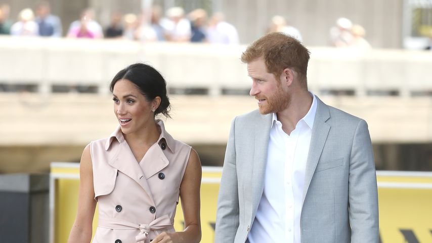 Herzogin Meghan und Prinz Harry auf der The Nelson Mandela Centenary Exhibition