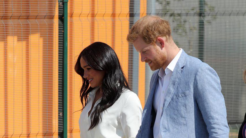 Herzogin Meghan und Prinz Harry, 2019 in Johannesburg