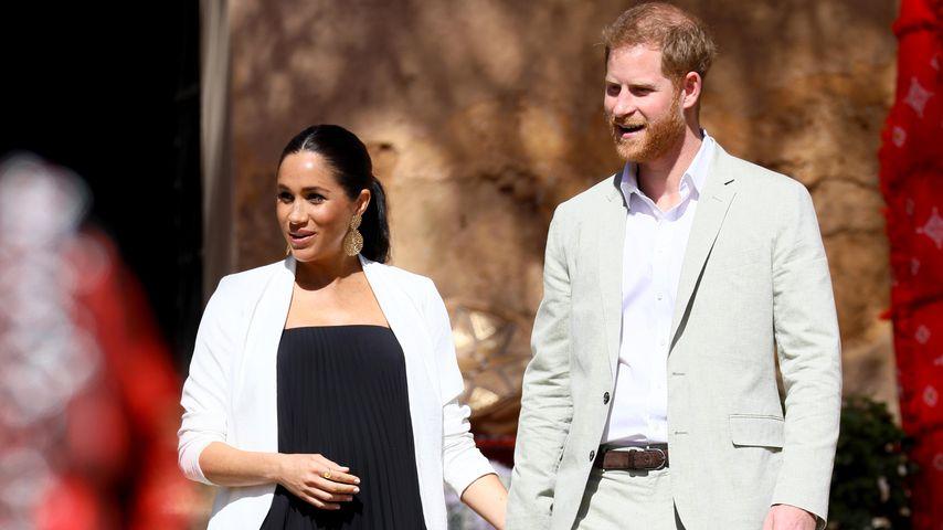Herzogin Meghan und Prinz Harry in Rabat, Marokko