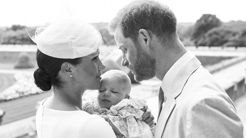 Herzogin Meghan und Prinz Harry am Tag von Archie Harrisons Taufe