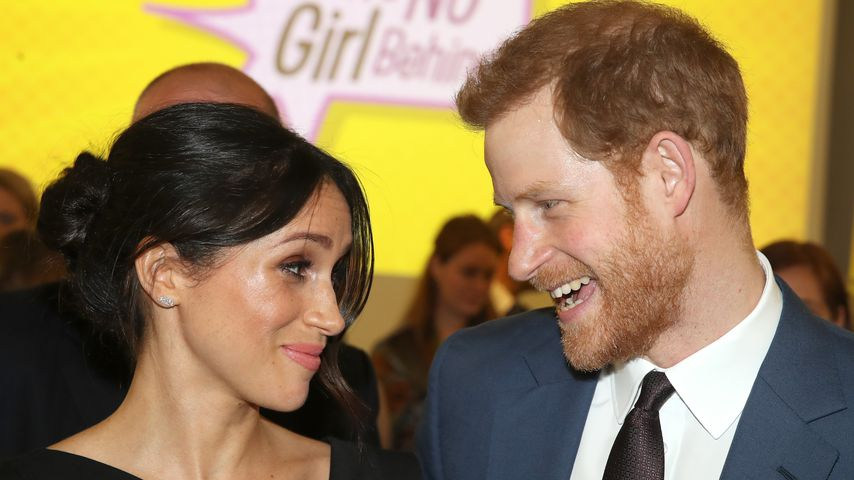Herzogin Meghan und Prinz Harry in London im April 2018