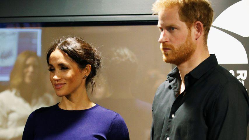 Herzogin Meghan und Prinz Harry im Oktober 2018