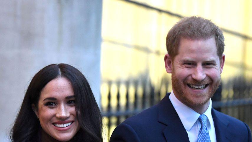 Ohne Druck: Noch planen Harry und Meghan kein weiteres Baby