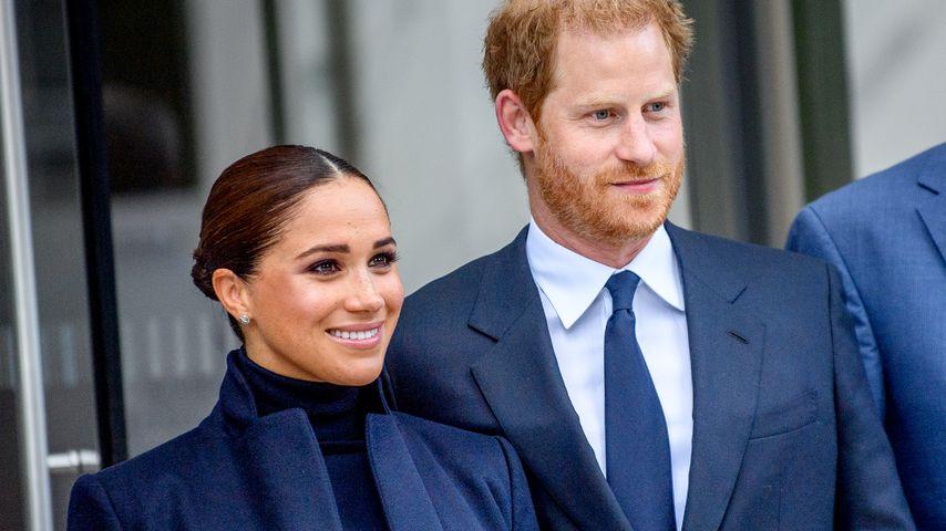 Herzogin Meghan und Prinz Harry im September 2021 in New York