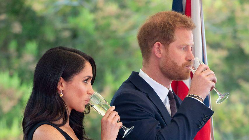 Herzogin Meghan und Prinz Harry in Dublin 2018