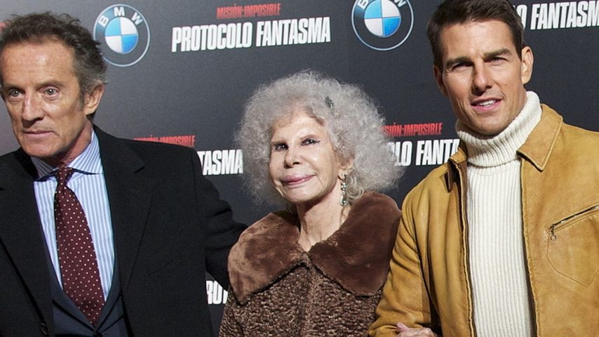 Tom Cruise und Herzogin von Alba