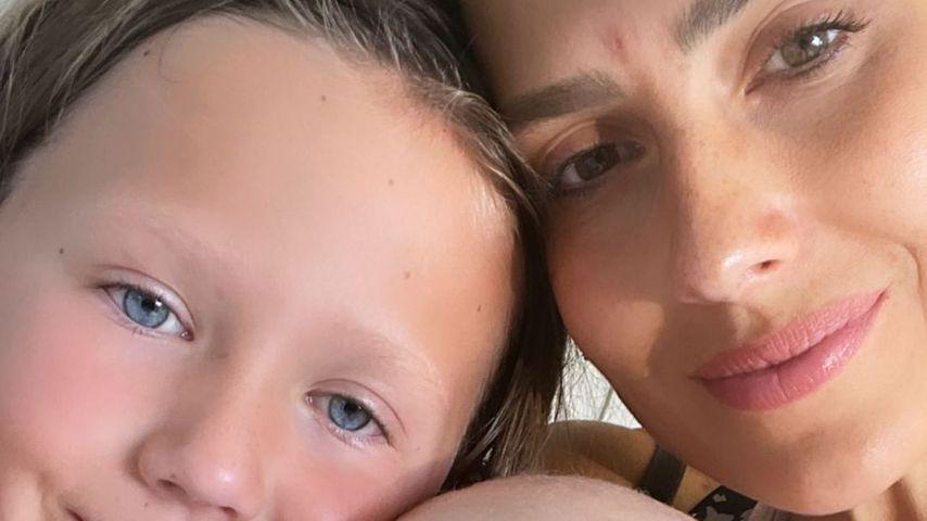 Hilaria Baldwin mit ihren Kindern im August 2021