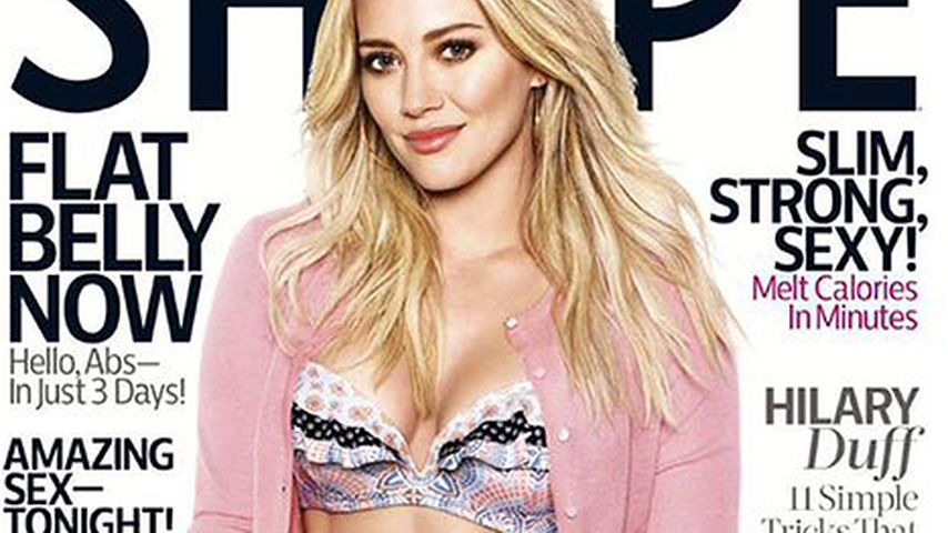 Wahnsinn! Hilary Duff überrascht mit heißen XXL-Bauchmuckis