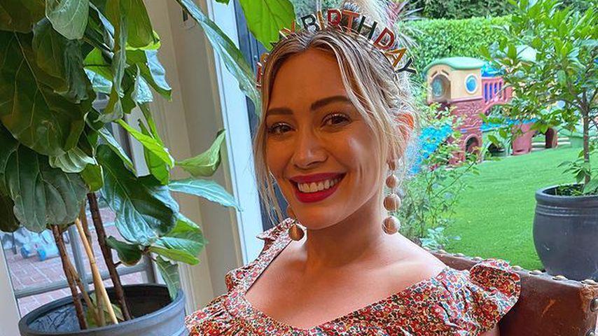 """""""Große Schwester"""": Ist Hilary Duffs drittes Baby endlich da?"""